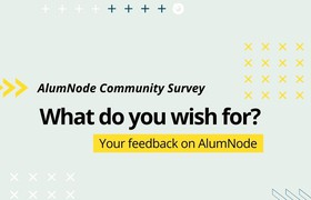 Community Survey: Your Feedback on AlumNode